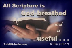 All Scripture is God-breathed and Useful