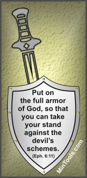 Armor of God for Spiritual Battles