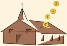 Pouring Money Into Church Building