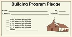 Building Fund Pledge