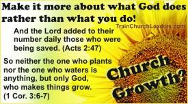 Church Growth Through God's Power