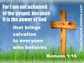 Examine Decisions against the Gospel which is the Power of God