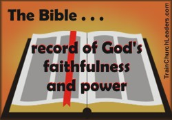 Record Keeping and God's Power