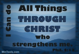 Spiritually Productive Through Christ's Strength - Phil. 4:13