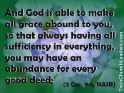 All Grace Abounds to Change