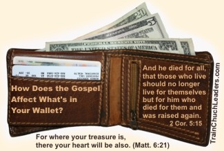 Gospel Affects Finances