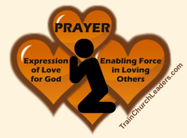 Communication with God, Prayer, Expresses Love for Him
