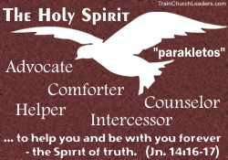 Holy Spirit as our Helper in Church Discipline