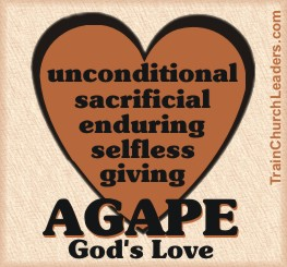 Agape - God's Love is the Means to Coordination in the Church