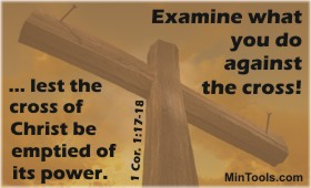 Go Back to the Cross for Gospel Power