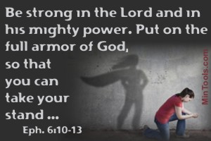 God as Defender, Not Church Policies - Strength from Lord