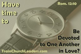 Making Time for One Another?