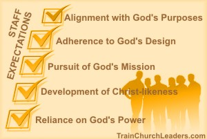Expect Staff Alignment with God's Purposes