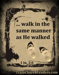 Walk As Jesus - Lessons About Delegation