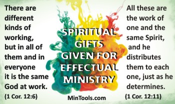 Assessing Ministry Fit in Staff Evaluation for Spiritual Gifts