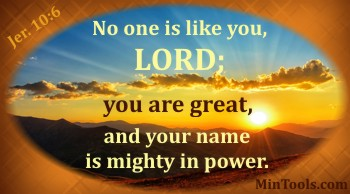 Change in His Names is Possible - It's Mighty in Power
