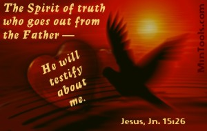 The Holy Spirit Testifies of Christ