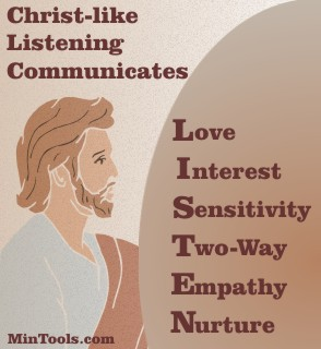 Christ-like Listening Communicates