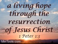 Hope Due to Resurrection Power