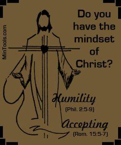 Mindset of Christ