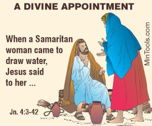 No Divine Appointment if Jesus Hadn't Delegated