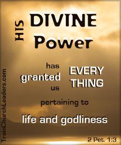 Divine, Supernatural Power for When Listening