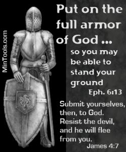 Attacks against Church Growth Require Putting on the Full Armor of God