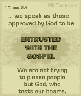 Empowered Communication Entrusted with the Gospel