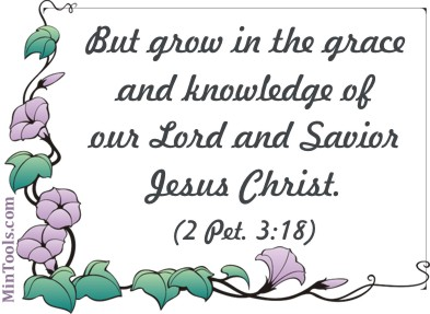 Encourage Church Staff to Grow in Grace